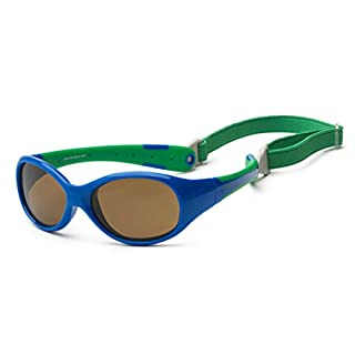 Koolsun - Flex - Baby Sonnenbrille - royal green - 0+ (0-3 Jahre)