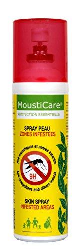 Mousticare 75ml Mosquito y repelente de insectos spray Max Fuerza