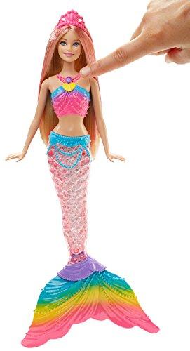 Barbie 10154 Rainbow Light-Up Barbie Mermaid Doll