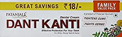 Patanjali Dant Kanti Natural Toothpaste - 200 g with Body Cleanser - 100 g