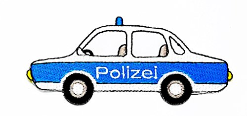 Polizei Cartoon Kids Kinder Cute Animal Patch für Heimwerker-Applikation Eisen auf Patch T Shirt Patch Sew Iron on gesticktes Badge Schild Kostüm (Diy Boy Kostüme)