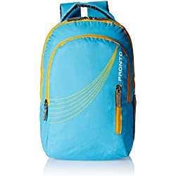 Pronto Xion 25 Ltrs Tea Blue Casual Backpack (8801 - BL)