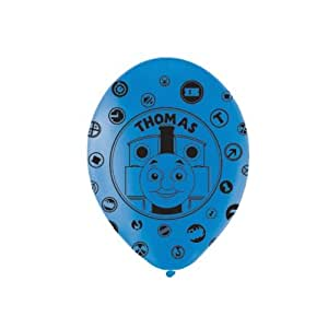 Amscan 994304 27.5 cm Thomas and Friends All Over Print Latex Balloons