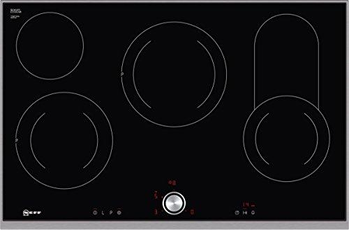 Neff T18TT16N0 Kochfeld Elektro / CERAN®/Glaskeramik / 82,60 cm / Kochstelle Ceran/Glaskeramik / schwarz