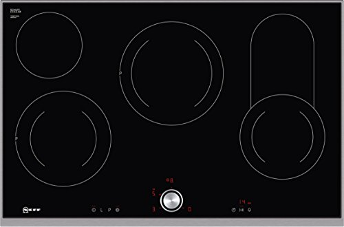 Neff T18TT16N0 Elektrokochfeld N70 / 80cm / TwistPad  / Bräterzone / Glaskeramik / Edelstahlrahmen