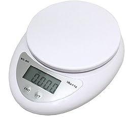 BestMall Digital Küche Weight Scale Ernährung Essen 5 KG 1 G