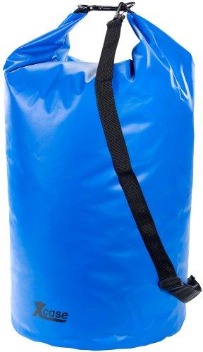 Xcase Wasserdichter Sack: Wasserdichter Packsack 70 Liter, blau (Wasserdichter Schwimmbeutel)