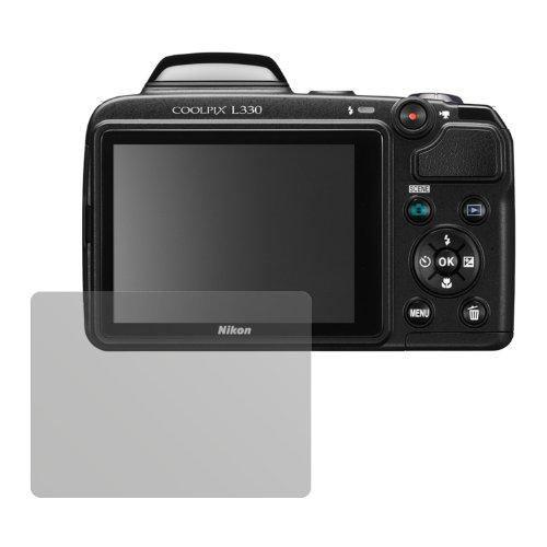 L330 Schutzfolie (6 Stück) - Antireflex Premium Folie matt (Nikon Coolpix L330-kamera)