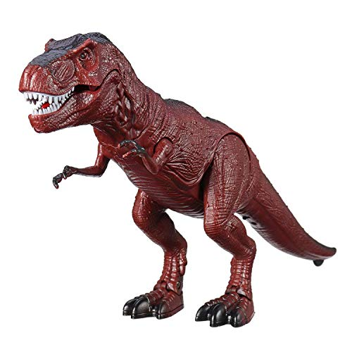 SODIAL Juguete de Dinosaurio de Control Remoto Eléctrico Sonido Ligero Que Camina RC Acción Animal Juguetes de Modelo De Figura Regalos para Ni?os, B