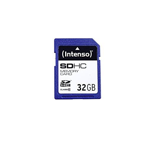 Intenso SDHC 32GB Class 10 Speicherkarte blau (Sd-karte Class 10 32g)