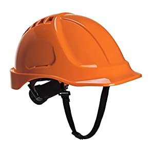 Portwest PS54ORR Elmetto Edurance Plus Fluo, Arancione, 56-63