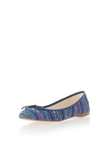 Jonny's Vegan Damen Schuhe Ballerina Pervian Stone AK1414 blau (blue) (36) - 4
