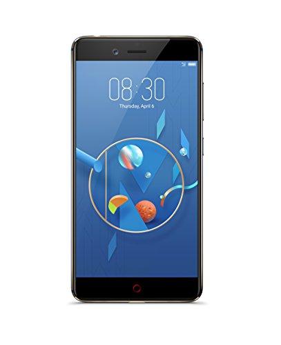 Nubia Z17 mini Smartphone (13 cm (5,2 Zoll), 128GB interner Speicher, 6GB RAM, 2x 13MP Kamera, Android 6.0 Marshmallow) Aurora Blue