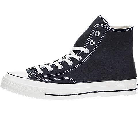 Converse Unisex-Erwachsene Taylor Chuck 70 Hi Sneakers, Schwarz (Black/Black/Egret 001), 43 EU