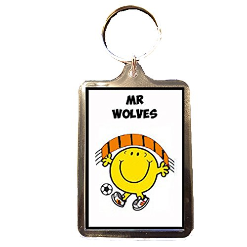 Price comparison product image Footie Gifts Wolverhampton Wanderers F.C - Mr Wolves Keyring