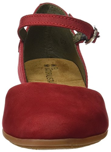 Inyectados Y Vulcanizados S.A Damen Nd54 Pleasant Stella Mary Jane Flats Rot (Tibet)