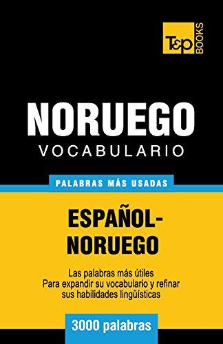 Vocabulario Español-Noruego - 3000 palabras más usadas por Andrey Taranov