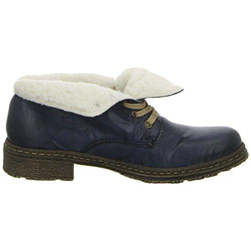 Rieker 54240 bottes & bottines femme ozean