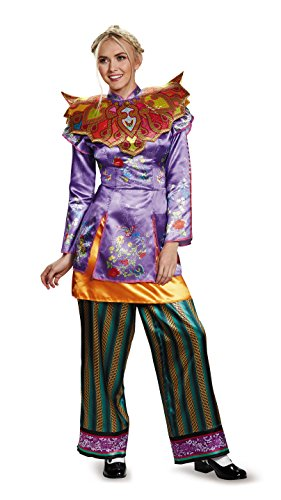 Alice Through The Looking Glass Women's Alice Asian Inspired Deluxe Costume Large 12-14
