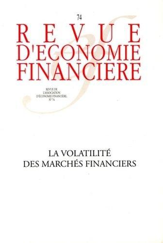 La volatilité des marchés financiers - N°74