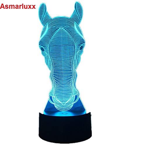 Cavallo luce festival atmosfera decorazione auto giocattolo illuminazione gadget luce notturna scivolo regalo colore chiaro