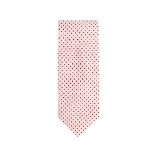 Basic Ties Cravate classique rosa piccola scatola