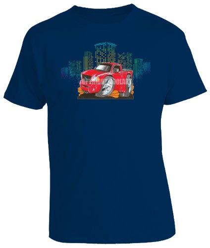 koolart-cartoon-caricature-style-of-ford-ranger-mens-t-shirt-navy-xx-large