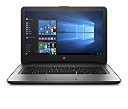 HP 14-AR004TU 14-inch Laptop (Core i3- 6th Gen/4GB/1TB/Windows 10 Home/Integrated Graphics/MS office), Turbo Silver