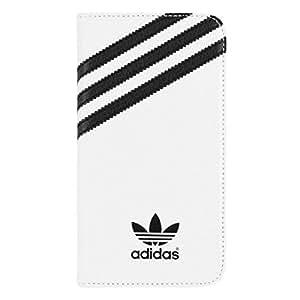 adidas 17209 Etui folio pour Samsung Galaxy S5 SM-G900F Blanc/Noir