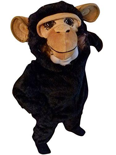 Affen-Kostüm, F85/00 Gr. 74-80, für Klein-Kinder, Babies, Affen-Kostüme Affe Kinder-Kostüme Fasching Karneval, Kleinkinder-Karnevalskostüme, Kinder-Faschingskostüme, (Kostüme Affe Baby Kuscheliger)