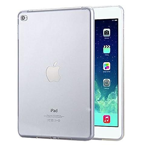 FAS1 iPad Air 1 Schutzhülle, Neue Klare Weiche TPU Tasche Gel Silikon Back Case Ultradünn Hülle Für Apple iPad Air 1 (Durchsichtig)