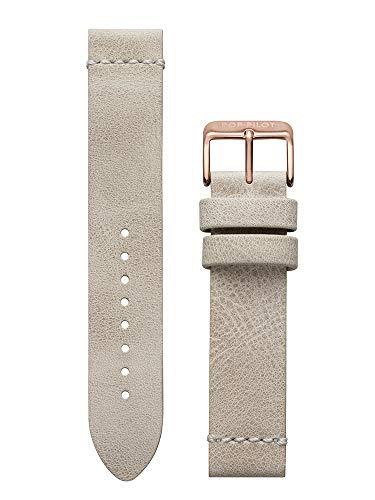 Pop Pilot Damen Leder Uhrenarmband LB Lino Rosegold Schlie 20 mm