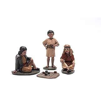 Triciclo Editores Belén Delprado J.L.Mayo- Set de 3 Niños con juego – Serie 11 cms BEL916