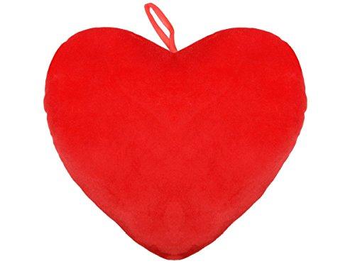 Alsino Ich liebe dich Kissen XXL Anhänger Arme Plüschkissen Herzform Kissenherz rot Herzkissen