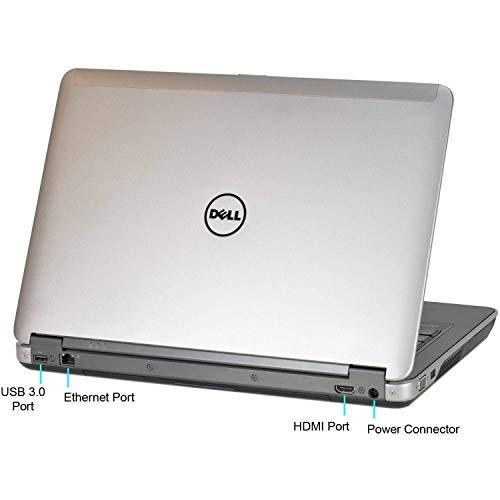 (Renewed) Dell Latitude E6440 14 Inch Laptop (core i7 4610M/8GB/256GB SSD/Windows 10 Pro/MS Office Pro 2019/Built-in graphics), Metalic Grey Image 4