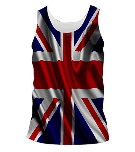 Snoogg-British-Flag-Wallpaper-Mens-Casual-Beach-Fitness-Vests-Tank-Tops-Sleeveless-T-shirts