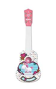Gru: Mi Villano Favorito Blandito el Unicornio de los Minions, GRU-Mi Primera Guitarra, 6 Cuerdas, 53 cm de Largo, Juguete niñas a Partir de 3 años (Lexibook K200DES1), Color Blanco