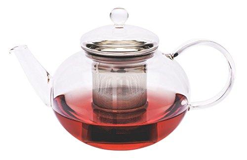Trendglas Jena Teekanne Miko im klassischen Design mit Edelstahlsieb, 2,0 l Design-teekanne