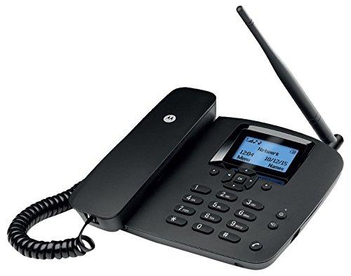 Motorola MOTOFW200L - Teléfono Fijo inalámbrico (1000 entradas de la Agenda, SIM, Despertador)