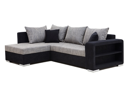 B-famous PolstereckeHouston-2-Pur Schenkelma? 226 x 160 cm Materialmix Mikrovelour...