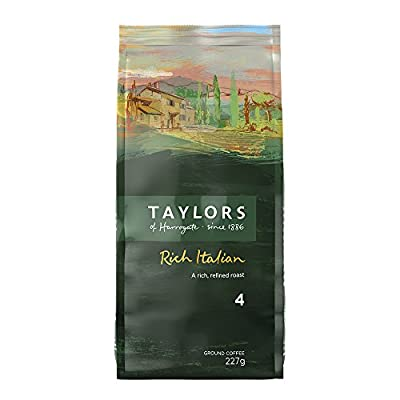 Taylors of Harrogate Rich Italian Ground Coffee 227 g (Pack of 3)