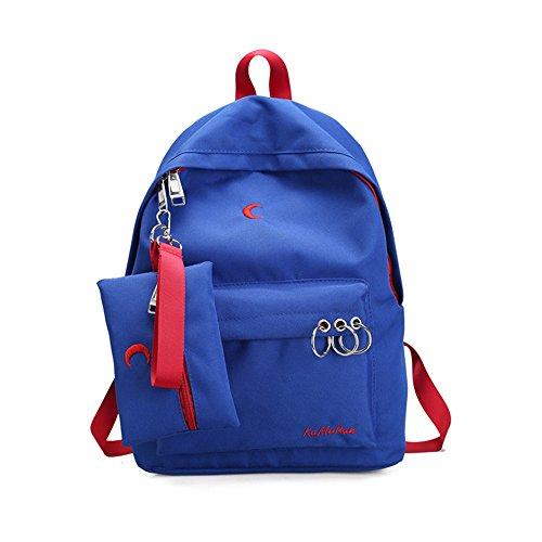 Spalle in nylon pacchetto coppie dual borse a tracolla e alla moda, zaino ,A E