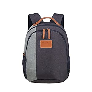 41%2BU97PBjiL. SS300  - SAMSONITE Rewind Natural - Backpack Small 0.4 KG Mochila Tipo Casual, 38 cm, 15 Liters, Azul (River Blue)