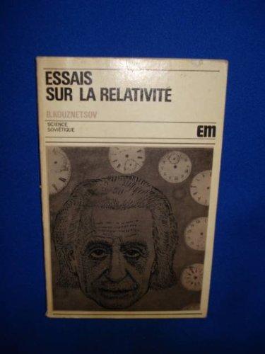 Essai sur la relativité