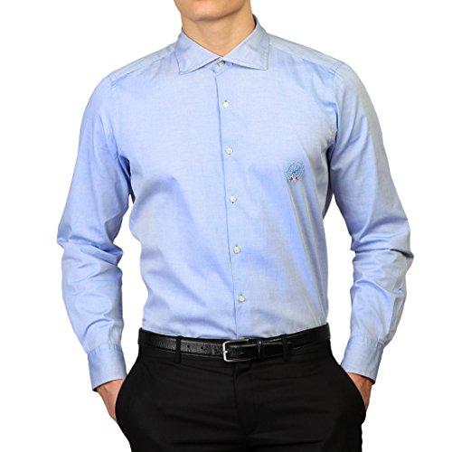 Royal Polo Herren Newton Hemd, langärmlig Himmelblau