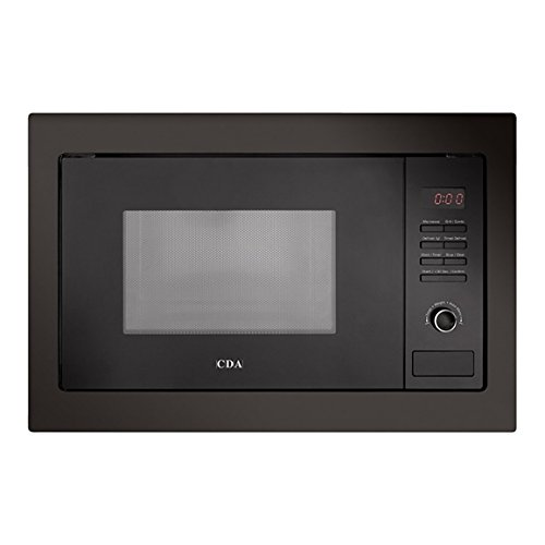 41%2BUBn%2BZi3L. SS500  - CDA VM230BL 25L Black 900W Integrated Combination Microwave Oven and Grill