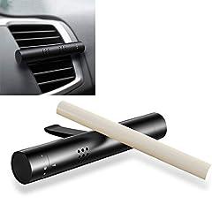 Idea Regalo - TopDirect Deodorante per auto, AIR FORCE con 3 Profumatore, Veicolo Aromaterapia Diffusore Purificatore d'aria Aroma Automatico per Aromaterapia, Rimuove Fumo e Odori
