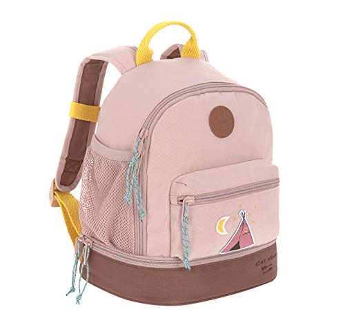 LÄSSIG Kinderrucksack mit Brustgurt Kindergartentasche Kindergartenrucksack / Mini Backpack, Adventure Tipi