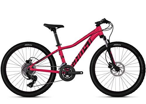 Ghost LANAO Kid D4.4 AL 24 Zoll (Rubi Pink/Jet Black) - Cube Fahrrad