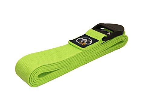 Fitness Mad Mujer estándar Cinturón de yoga, mujer, Standard, verde